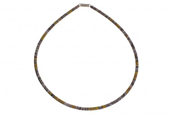 Zaremski Collier Silber bicolor