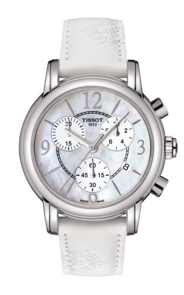 Tissot Dressport Chronograph weiß