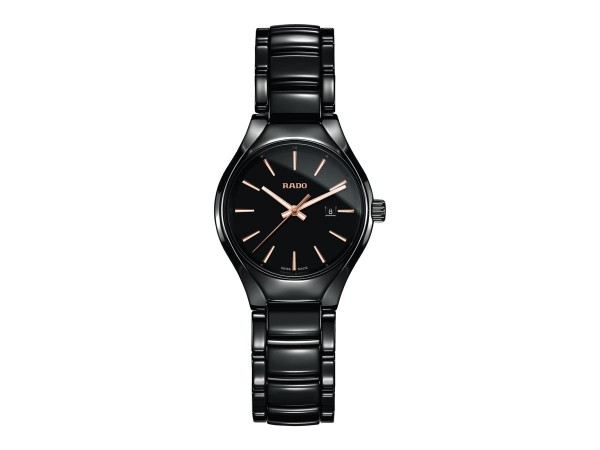 Rado True S schwarz Quarz