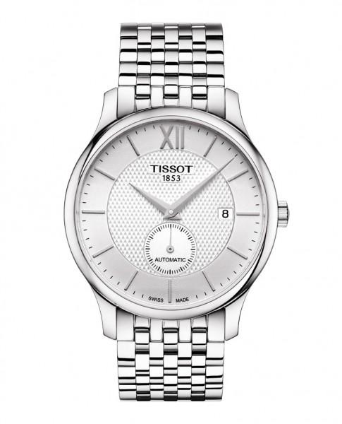 Tissot Tradition Automatic weiß kleine Sekunde