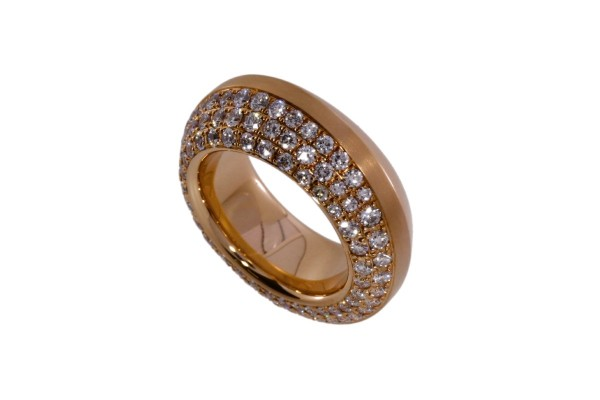 Odenwald Cloe Ring Rotgold, m. 85 Brill. 2,00ct