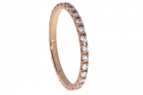 Dettinger Memoirering Rosegold, m. Brillanten 0,50ct