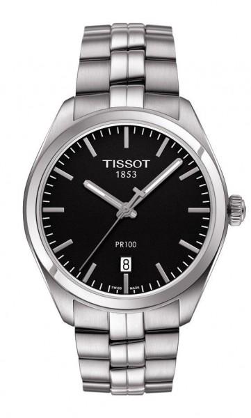 Tissot PR 100 Quarz Stahl/schwarz