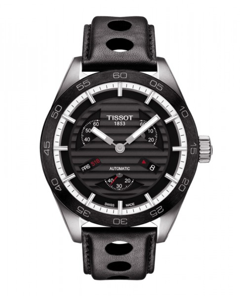 Tissot PRS 516 Small Second Automatic Schwarz