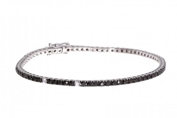 Crivelli Tennisarmband Weißgold, m. Diamanten 2,15ct