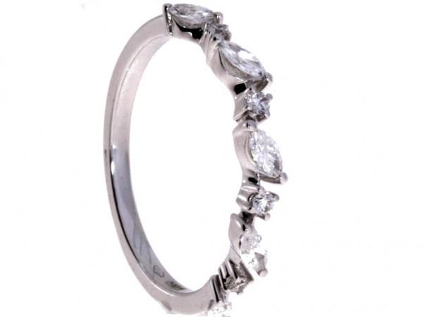 Crivelli Ring Weißgold, m. Diamanten 0,35ct