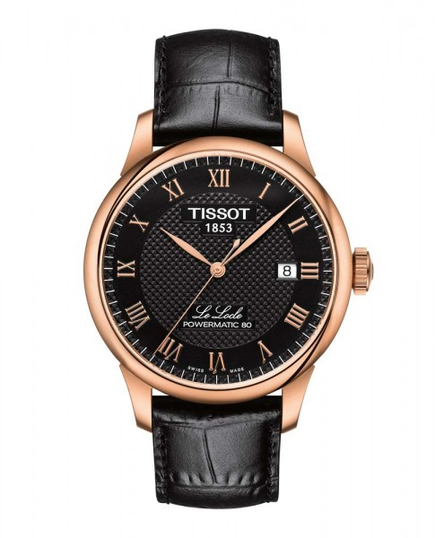 Tissot Le Locle rose/schwarz Powermatic 80