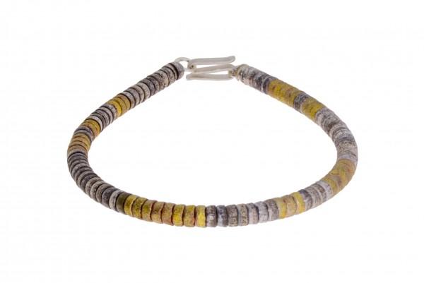 Zaremski Armband Silber bicolor