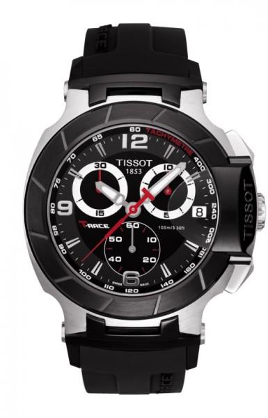 Tissot T-Race Chronograph bl./silv.