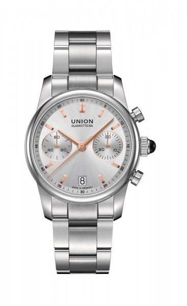 Union Glashütte Seris Chronograph Silber