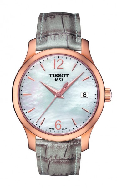 Tissot Tradition Lady rosé