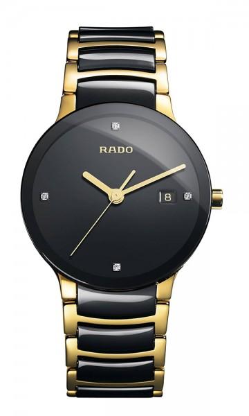 Rado Centrix Diamond L Quarz gelb/schwarz