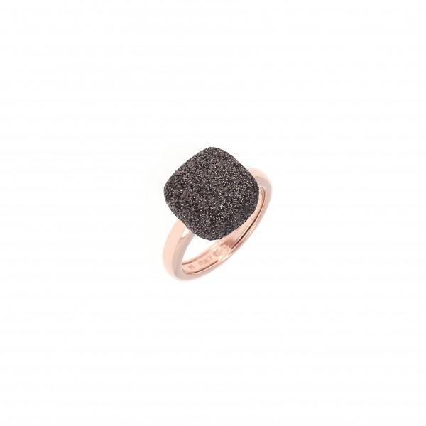 Pesavento Polvere di Sogni Ring Silber rosé, m. Polvere marrone
