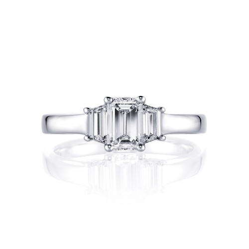 Meiller Diamonds Ring Weißgold, m. Diamant 1,25ct