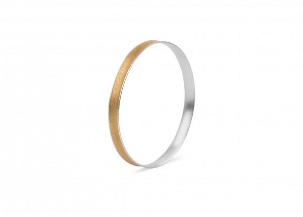 Zaremski Armreif Silber, vergoldet