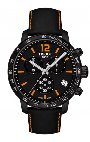 Tissot Quickster Chrono schw./orange