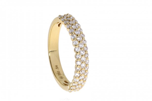 Rivoir Ring Gelbgold, m. Brillanten 0,54ct