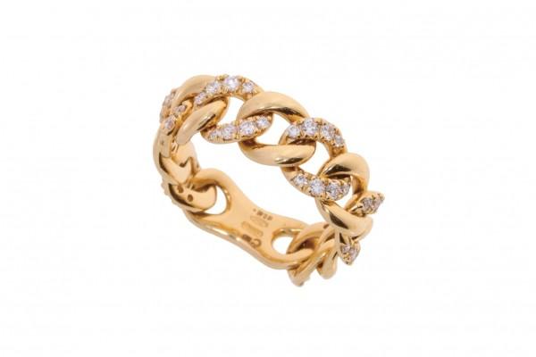 Crivelli Ring Rosegold, m. Brillanten 0,46ct fvs2