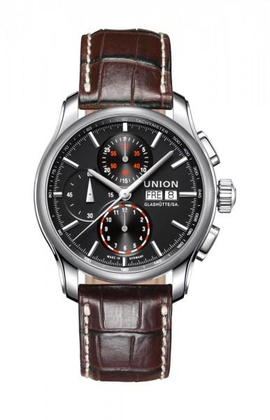 Union Glashütte Viro Chronograph Schwarz