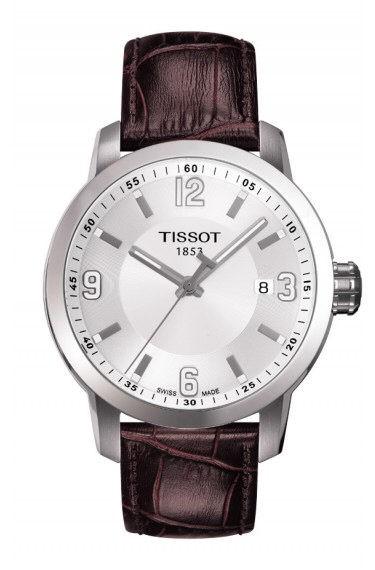 Tissot PRC 200 weiß/braun