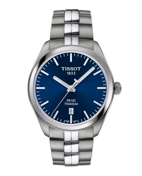 Tissot PR 100 Titan Quarz blau