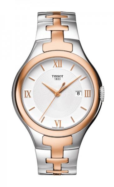 Tissot T12 bicolor rosé