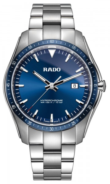 Rado Hyperchrome Blau XXL Armbanduhr