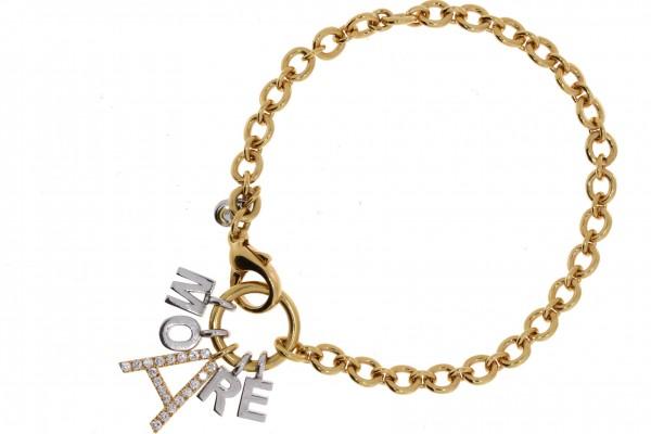 Crivelli Armband Amore Rosegold, m. Brillanten 0,53ct