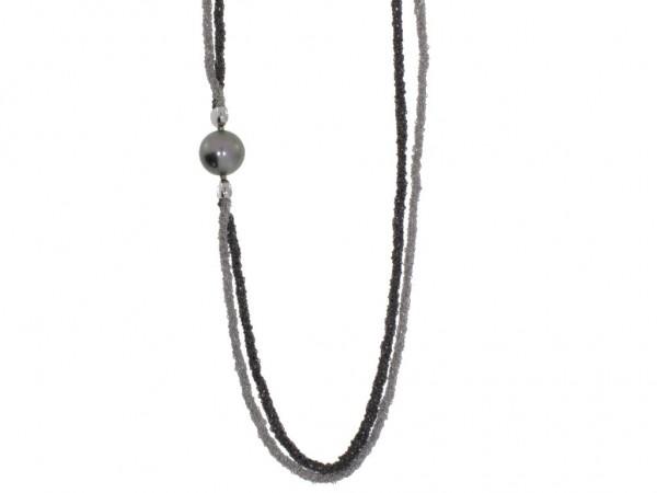 Gellner H2O Collier Tahiti-Zuchtperle Silber