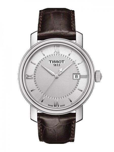 Tissot Bridgeport Quarz silb./braun