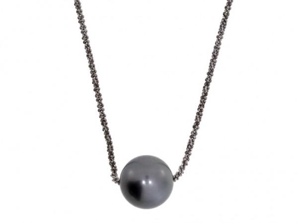 Gellner Urban Basic Kette Silber, m. Tahitiperle