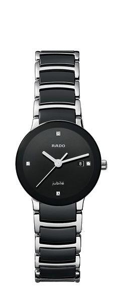 Rado Centrix S jubile schwarz