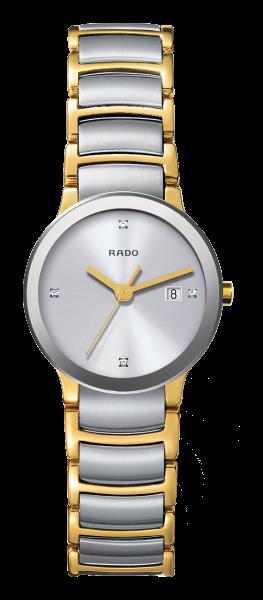 Rado Centrix S Diamonds bicolor/grau