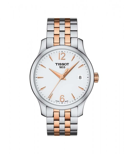 Tissot Tradition Lady Bicolor