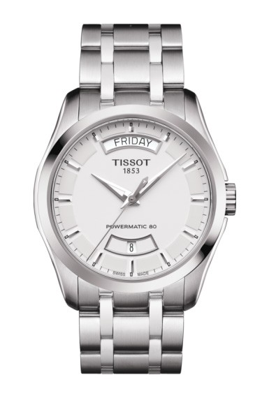 Tissot Couturier Powermatic 80 Weiß