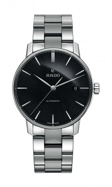 Rado Coupole Classic silb./schwarz