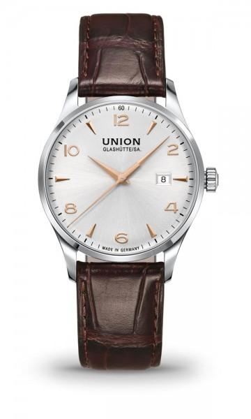 Union Glashütte Noramis Datum 40mm Silber