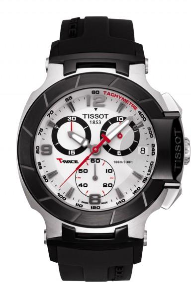 Tissot T-Race Chrono Weiss