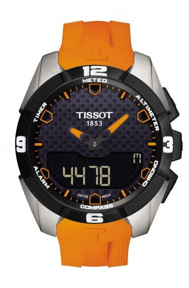 Tissot T-Touch Expert Solar Titan orange