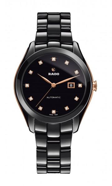 Rado Hyperchrome M schwarz/rose
