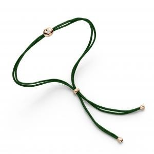 Schaffrath Colortaire Armband Green Emerald Rosegold, m. Brillant 0,08ct