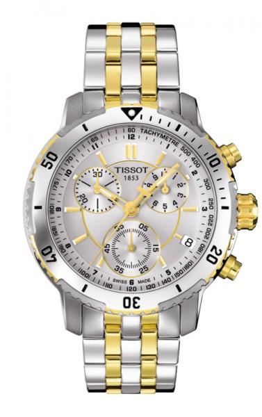 Tissot PRS 200 Chronograph bicolor