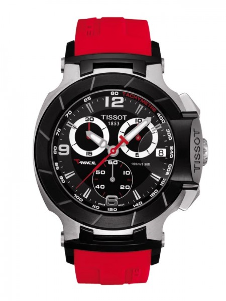 Tissot T-Race Chrono schwarz/rot