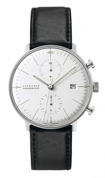 Junghans max bill Chronoscope Datum