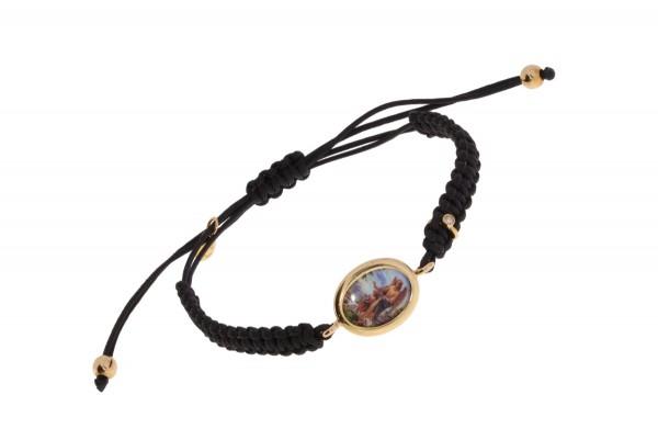 Crivelli Armband Schutzengel Rosegold, m. Brillant 0,01ct f/si