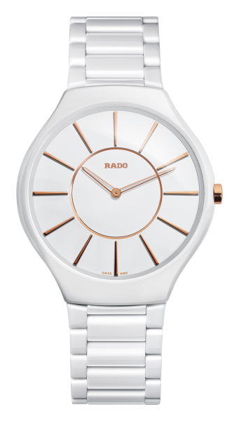 Rado True Thinline Quarz L white
