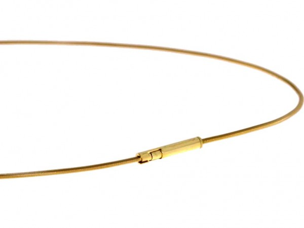 Niessing Schnur Classic Yellow 45cm, 1,2mm