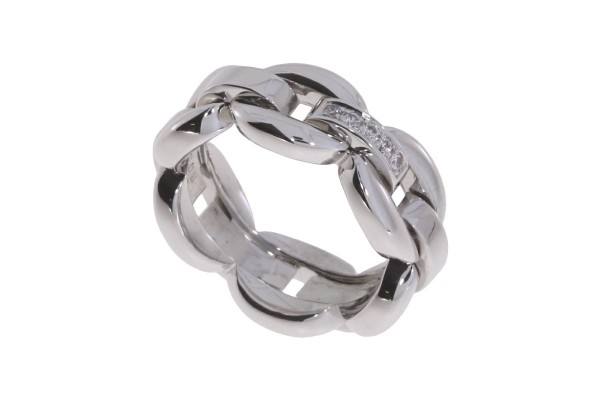 Odenwald Grace Ring Weißgold, m. Brillanten 0,08ct